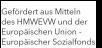 Gefördert aus Mitteln des HMWEVL und der Europäischen Union - Europäischer Sozialfonds